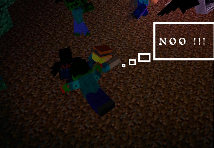 Image Play Minecraft 3D Minecraft Tunel